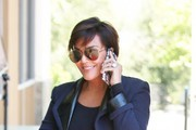 Kris Jenner Aviator Sunglasses