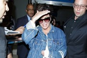 Kris Jenner Leather Sneakers