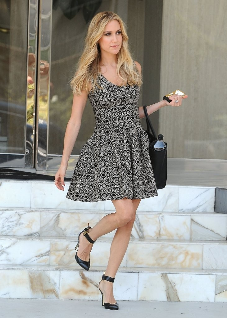 Kristin Cavallari Shops in West Hollywood