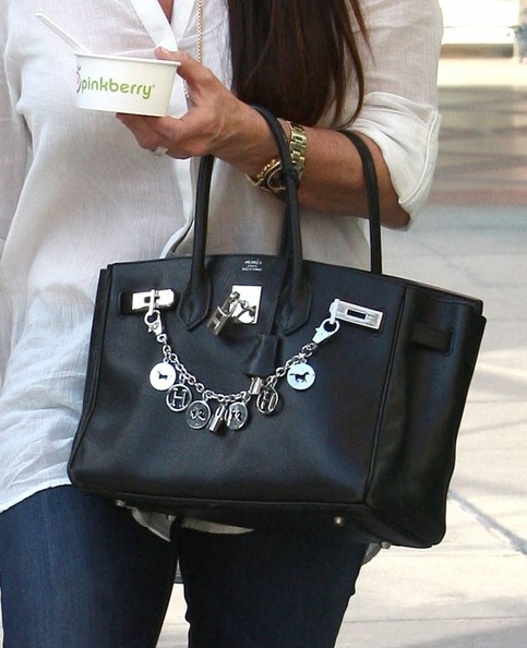 Kyle Richards Leather Tote