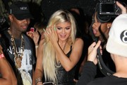 Reality star Kylie Jenner celebrates her 18th birthday with family and friends on August 9, 2015 in West Hollywood, California. The evening started at The Nice Guy before moving over to Bootsy Bellows where her boyfriend Tyga surprised her with a $320,000 Ferrari!