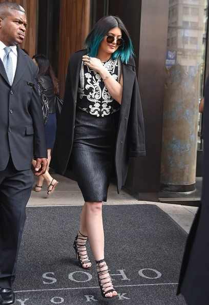 Kylie Jenner Pencil Skirt
