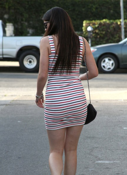 More Pics of Kylie Jenner Form-Fitting Dress (1 of 23) - Dresses & Skirts Lookbook - StyleBistro []