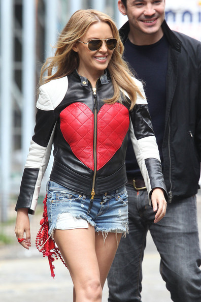Kylie Minogue Leather Jacket