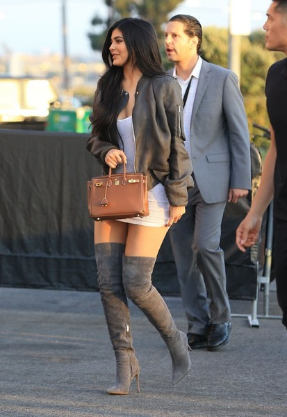 More Pics of Kylie Jenner Over the Knee Boots (1 of 7) - Boots Lookbook - StyleBistro