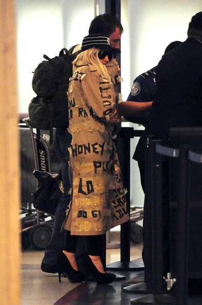 Lady Gaga Trenchcoat