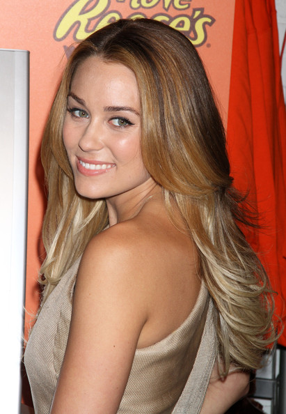 lauren conrad long hair. long hair layered cut. Lauren