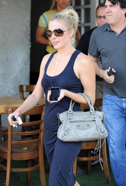 LeAnn Rimes Leather Tote
