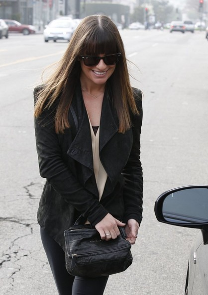 More Pics of Lea Michele Skinny Pants (3 of 19) - Lea Michele Lookbook - StyleBistro