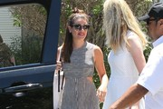 Lea Michele Studded Sandals