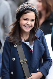 Bailee Madison wore a cute beanie as she roamed around Vancouver with a friend.