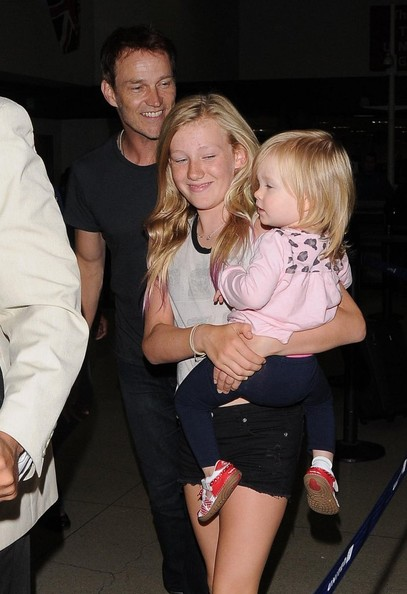 Anna Paquin and Stephen Moyer at LAX