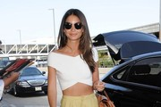 Lily Aldridge Crop Top