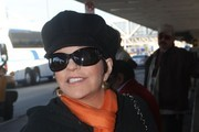 Liza Minnelli Oval Sunglasses