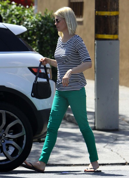 More Pics of January Jones Skinny Jeans (1 of 21) - January Jones Lookbook - StyleBistro