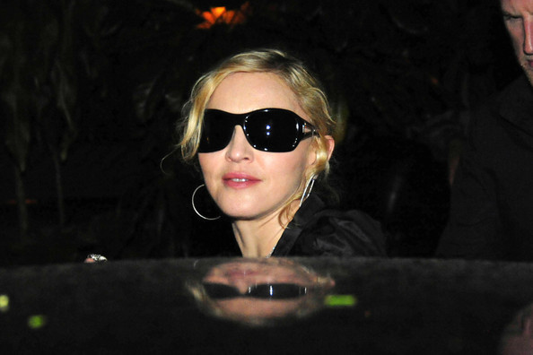 Madonna Square Sunglasses