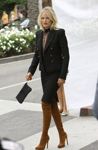 Malin Akerman Skirt Suit