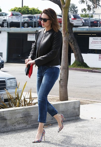 Mandy Moore Out and About in Hollywood