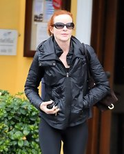 Marcia Cross is one busy woman, but somehow she manages to keep her casual looks stylish, as she showed with this cool jacket.