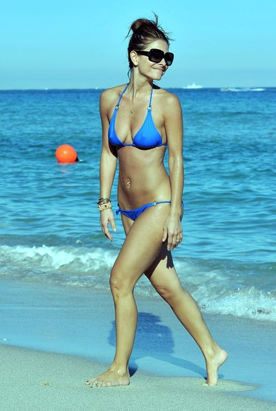 More Pics of Maria Menounos Halter Bikini (1 of 11) - Maria Menounos Lookbook - StyleBistro