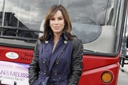 Melissa Rivers Trenchcoat