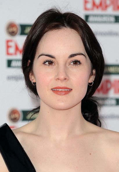 Michelle Dockery Loose Ponytail []