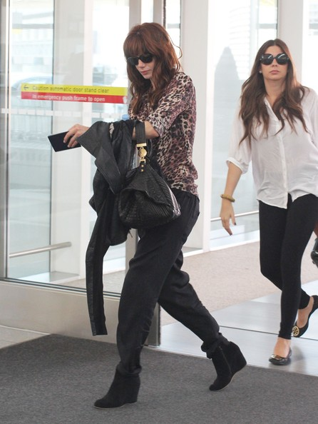 Michelle Monaghan Wedge Boots