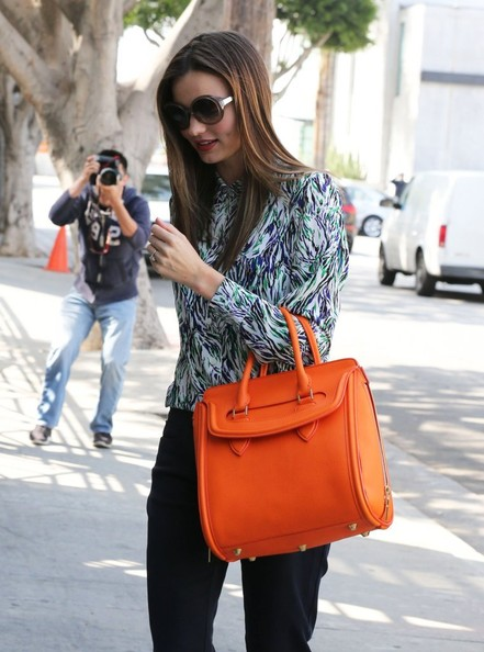 More Pics of Miranda Kerr Leather Tote (2 of 12) - Leather Tote Lookbook - StyleBistro