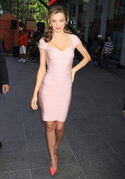 Miranda Kerr Bandage Dress