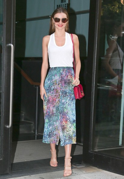 Miranda Kerr Long Skirt