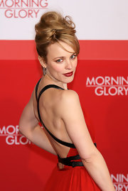 Actress Rachel McAdams rocked a voluminous French twist at the 'Morning Glory' Berlin premiere.