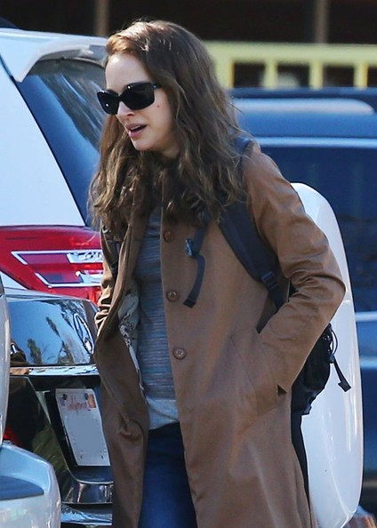 Natalie Portman Out And About In LA