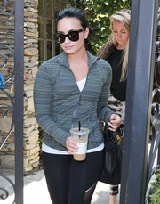 Demi Lovato looked stylish wearing these Celine butterfly sunnies while out in West Hollywood.