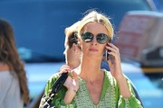 Nicky Hilton Oval Sunglasses