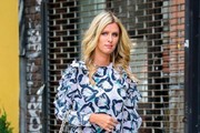 Nicky Hilton Tweed Tote