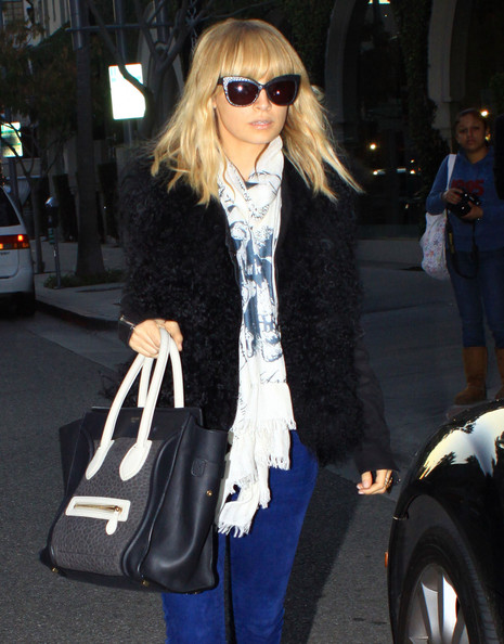 More Pics of Nicole Richie Skinny Pants (1 of 7) - Nicole Richie Lookbook - StyleBistro