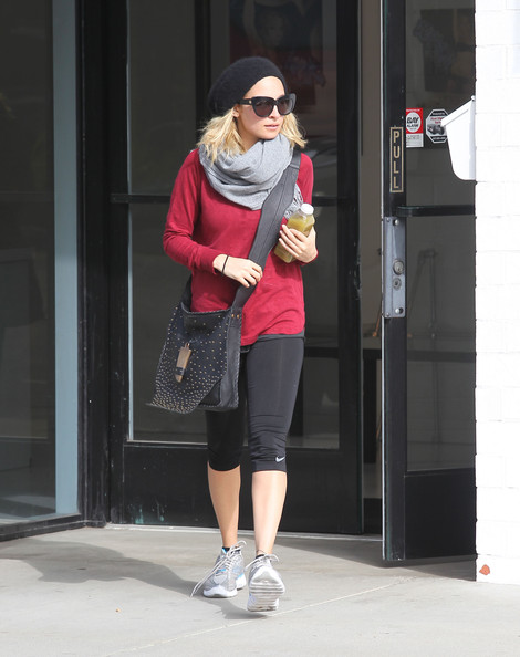 Nicole Richie Knit Top