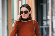 Nicole Trunfio Round Sunglasses