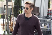 Olivier Martinez V-neck Sweater