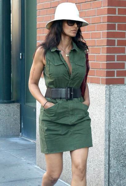 Padma Lakshmi Shirtdress