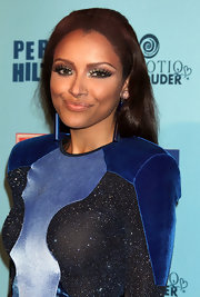 Katerina Graham amped up her look with defined lashes at Perez Hilton's Blue Ball Birthday.