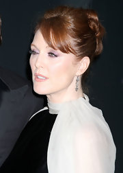 Julianne Moore wore her long locks looped and pinned at the Pirelli Gala Dinner in NYC.