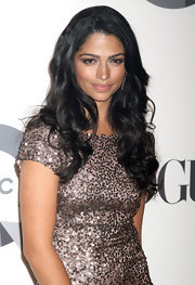 Camila Alves left the focus on her eyes by wearing sheer lipgloss.