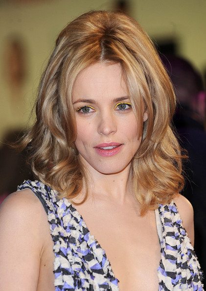 Rachel McAdams Bright Eyeshadow
