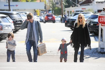 Rachel Zoe Rodger Berman Rachel Zoe and Family Get Lunch