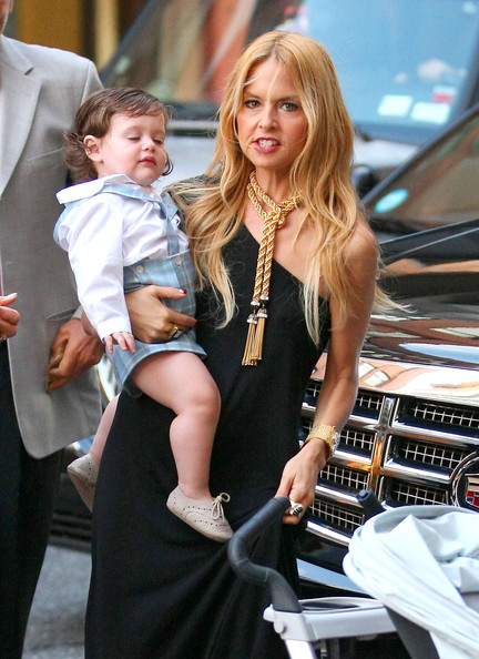 Rachel Zoe Takes Son Skylar to Dinner