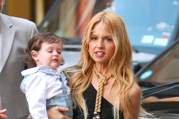 Rachel Zoe Skylar Berman Rachel Zoe Takes Son Skylar to Dinner