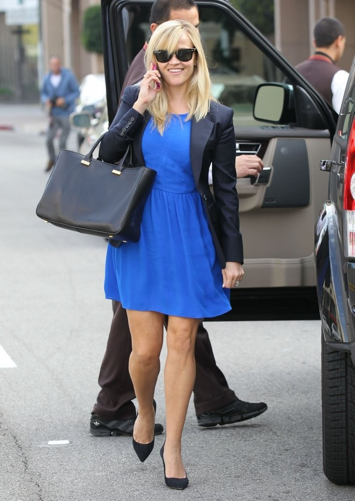 'Devil's Knot' actress Reese Witherspoon arriving at the Montage Hotel in Beverly Hills, California on November 28, 2012.