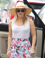 Reese Witherspoon was summer-cute in her straw hat while out and about in LA.