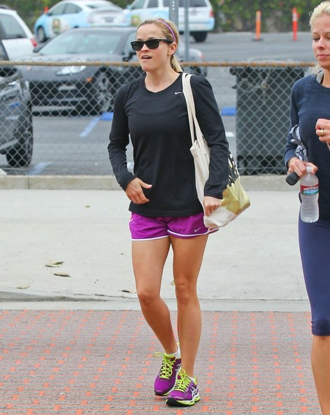 Reese Witherspoon Sports Shorts